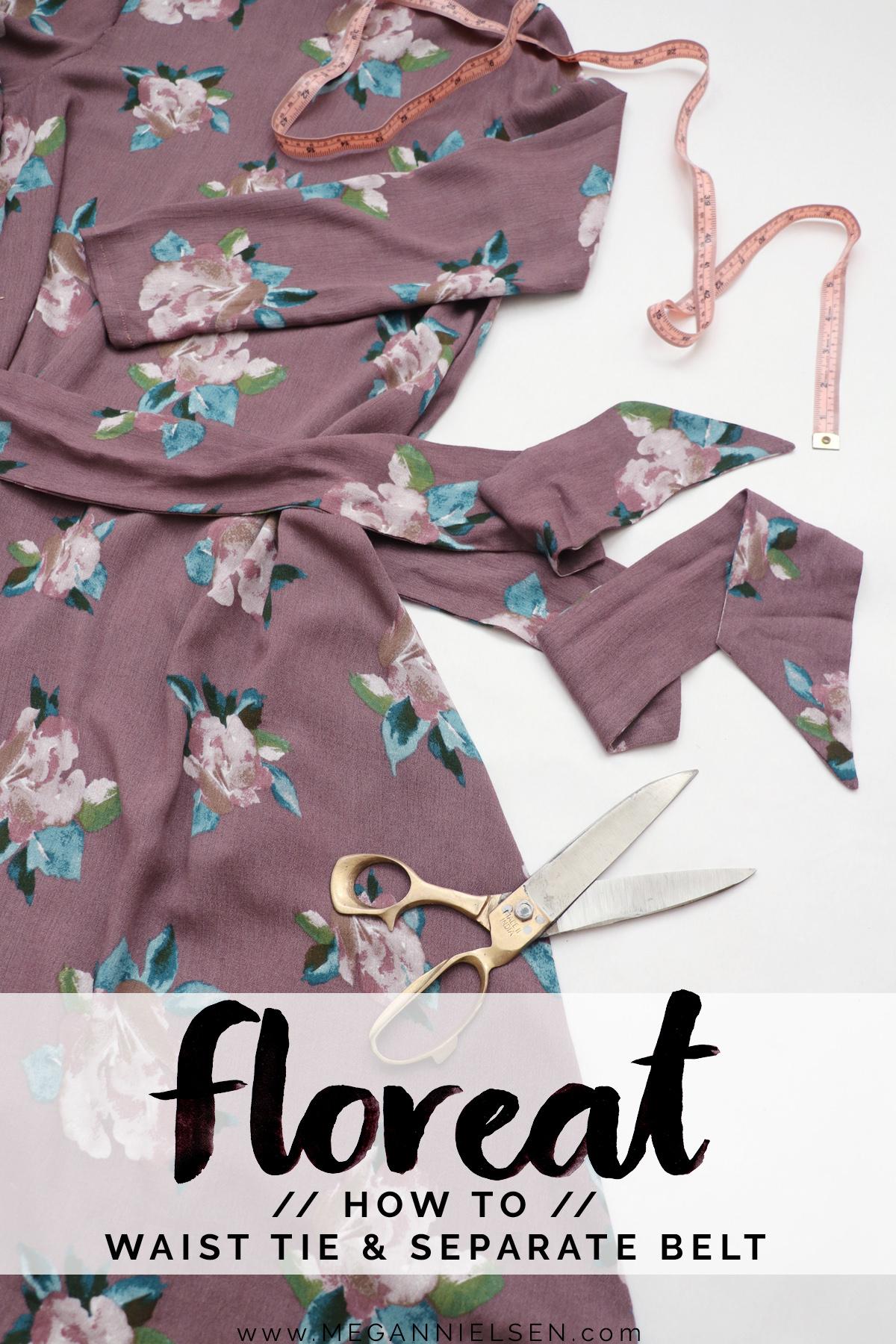 Floreat Waist Tie Header