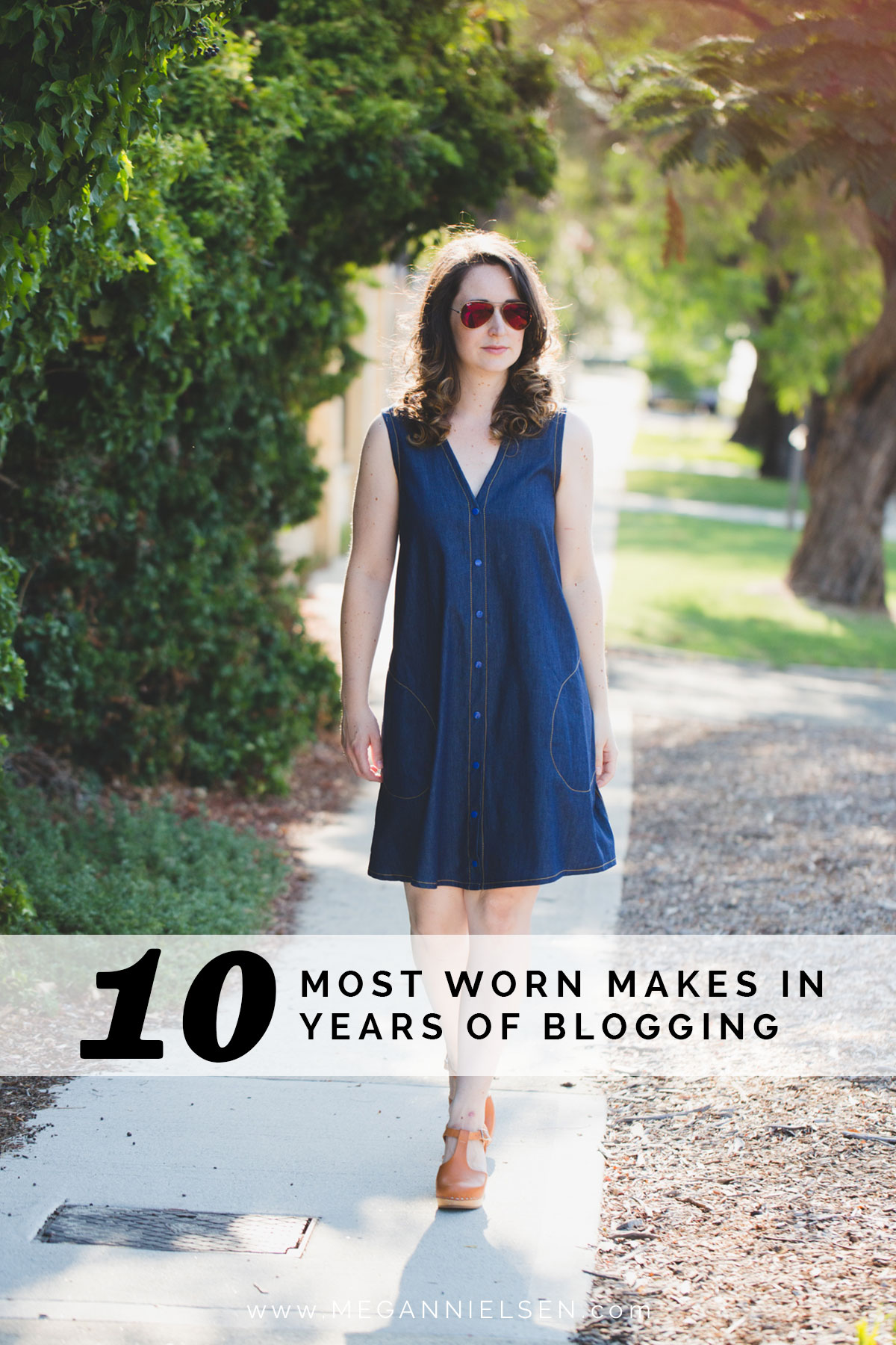Megan Nielsen's 10 most worn makes in 10 years of sewing blogging