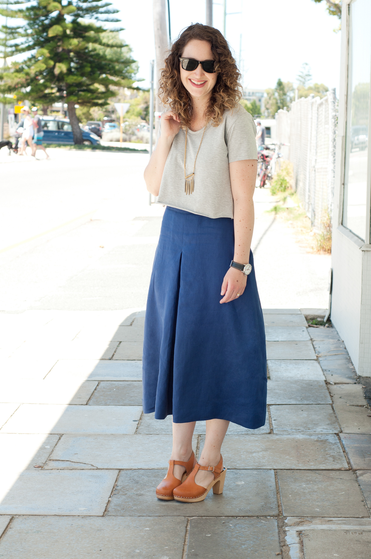 10 most worn makes in 10 years of blogging // Megan Nielsen Tania culottes