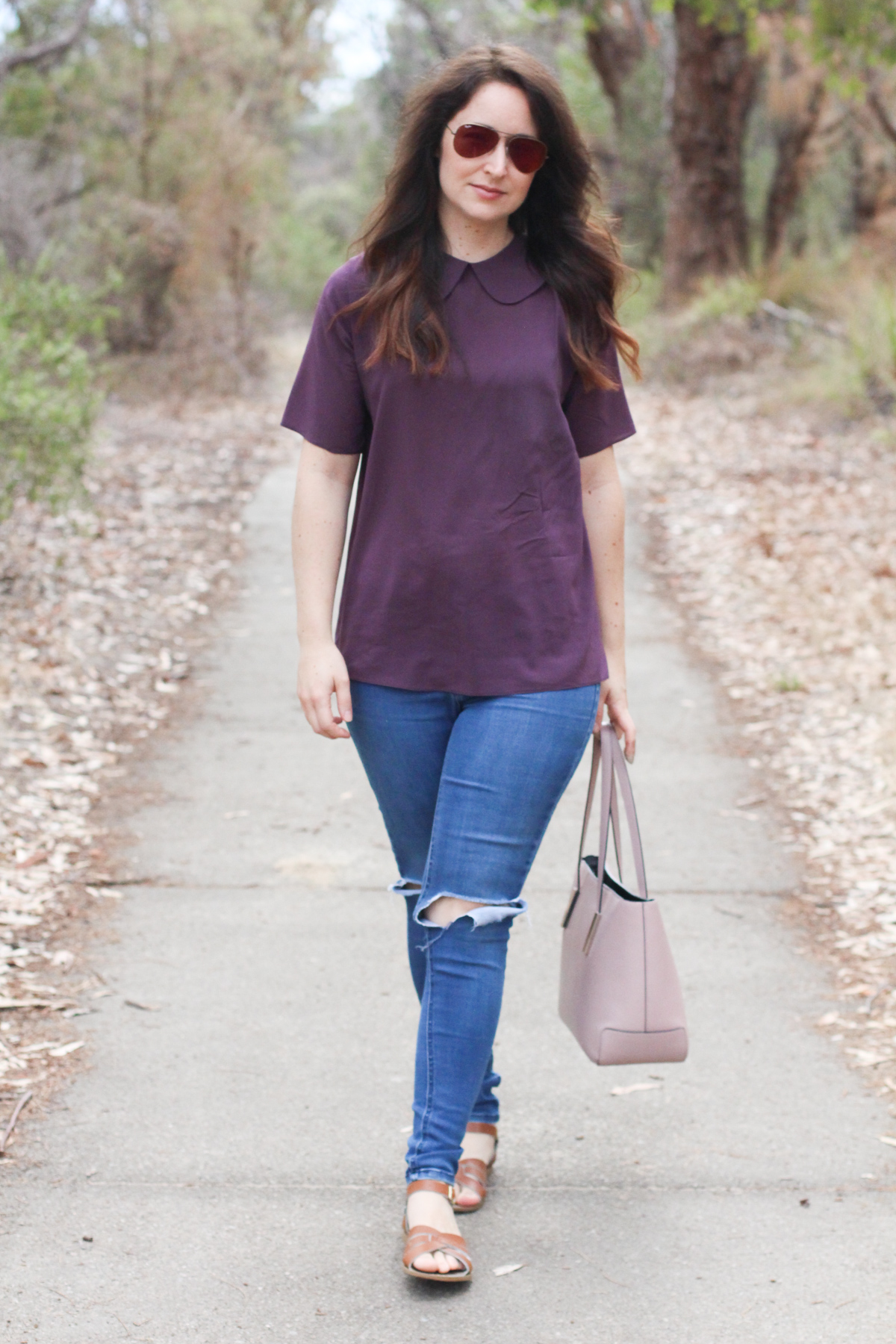 10 most worn makes in 10 years of blogging // Megan Nielsen silk Sudley blouse