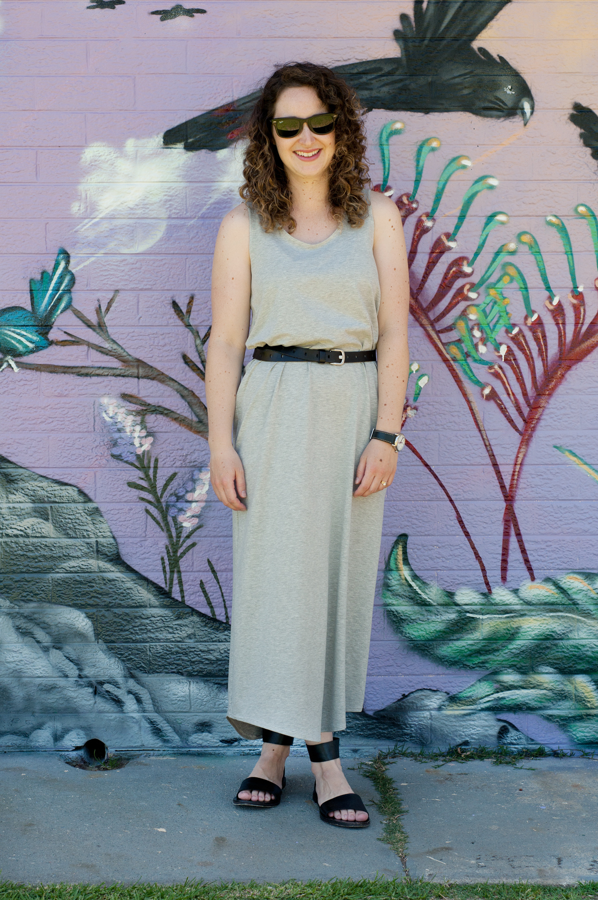 10 most worn makes in 10 years of blogging // Megan Nielsen jersey Eucalypt maxi dress