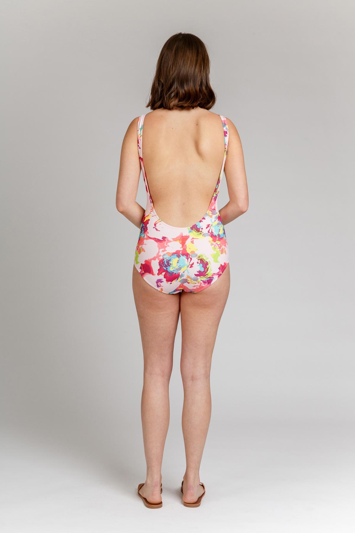 Megan Nielsen Cottesloe Swimsuit View A // Sizes 0-20