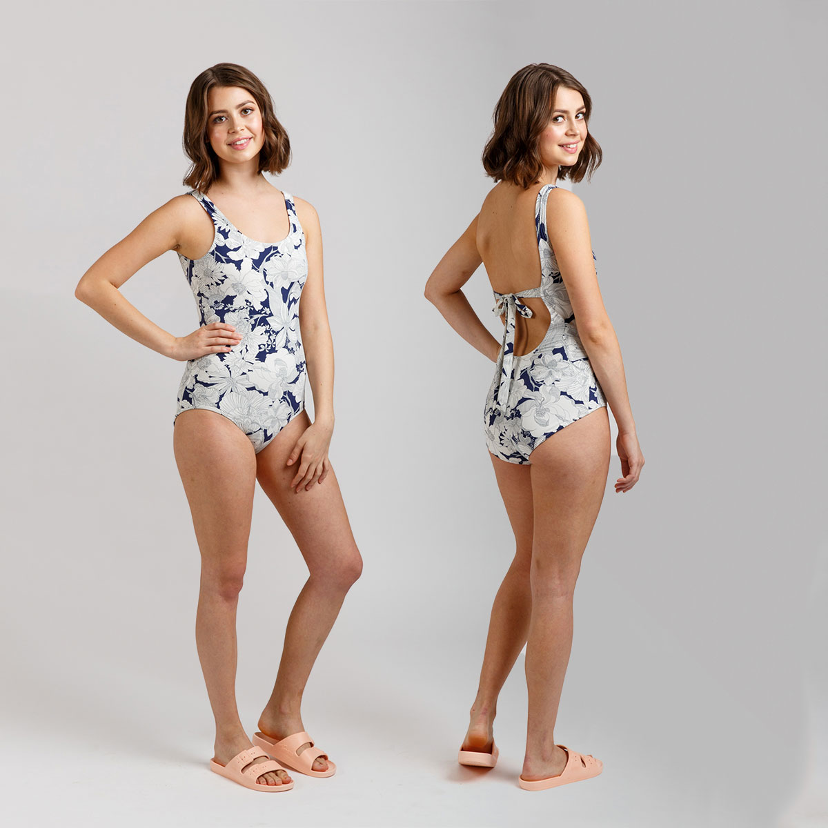 Megan Nielsen Cottesloe Swimsuit View A // Sizes 0-20