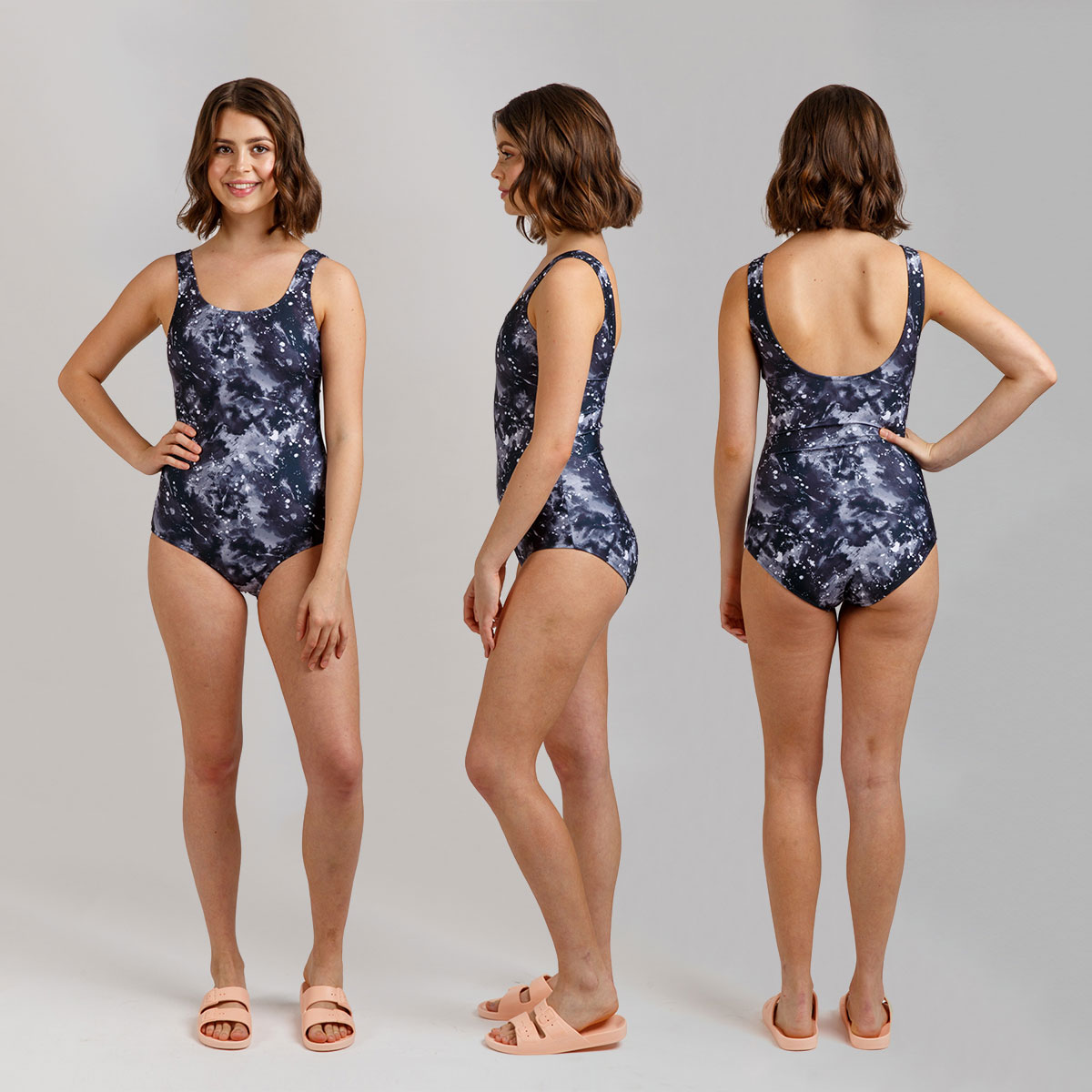 Megan Nielsen Cottesloe Swimsuit View B // Sizes 0-20