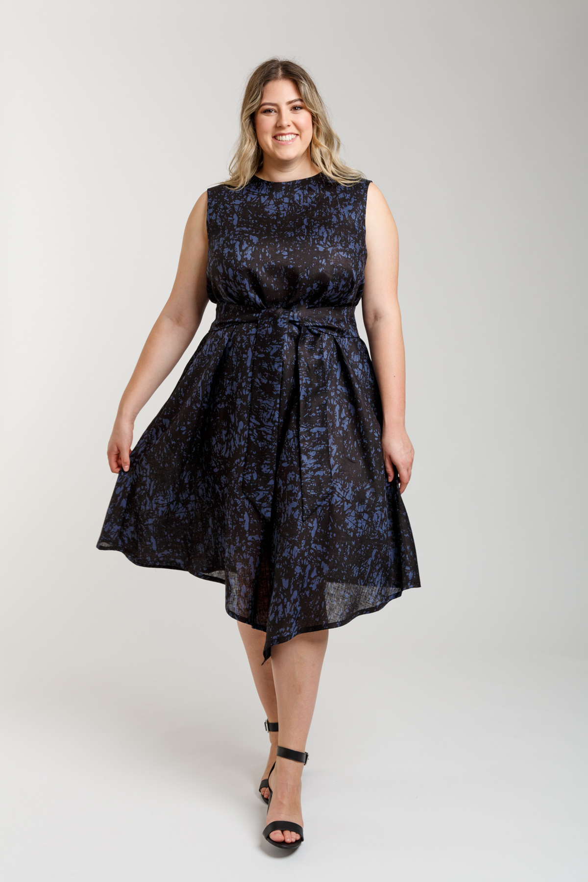 Megan Nielsen Curve Floreat dress