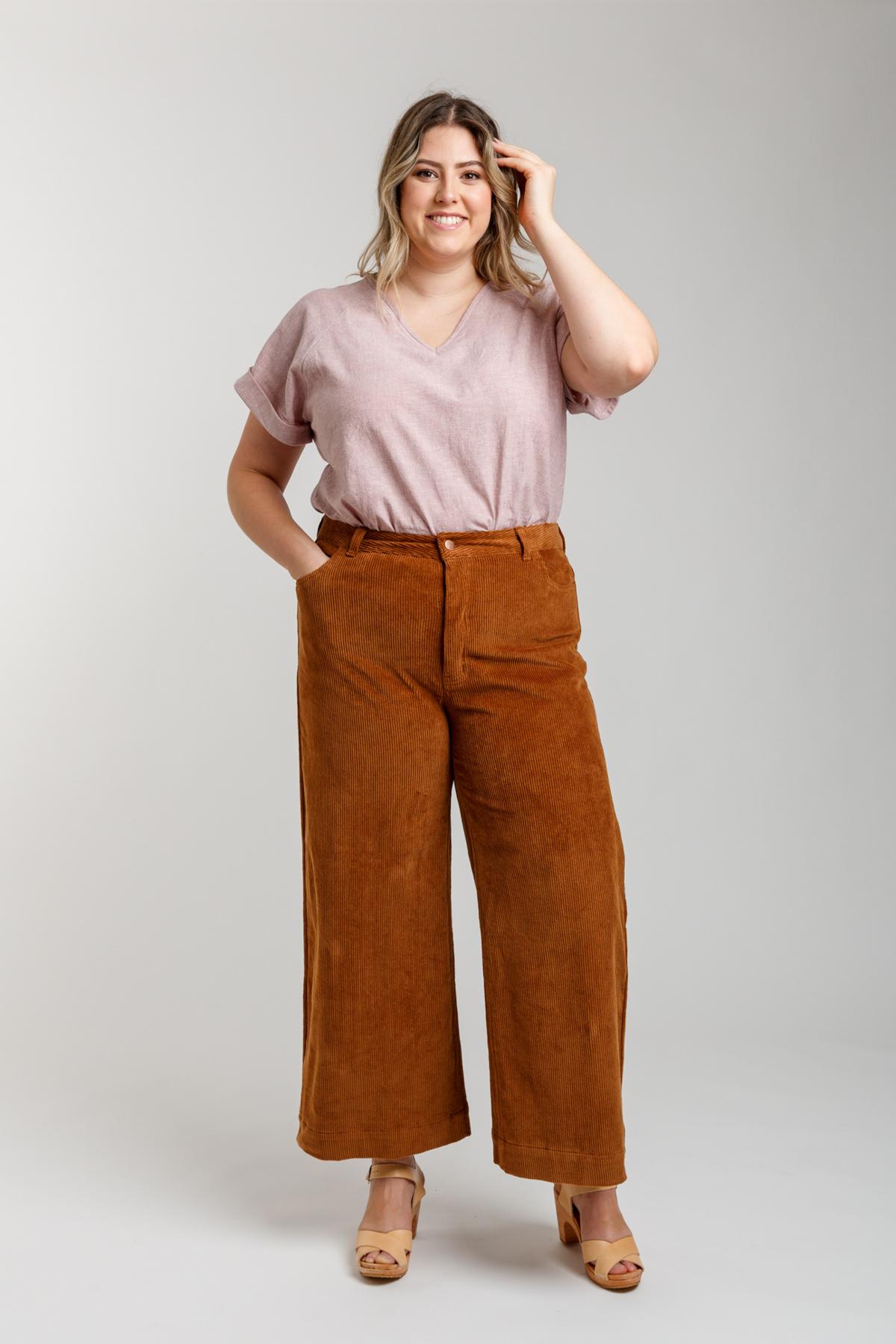 Megan Nielsen Curve Dawn Jeans