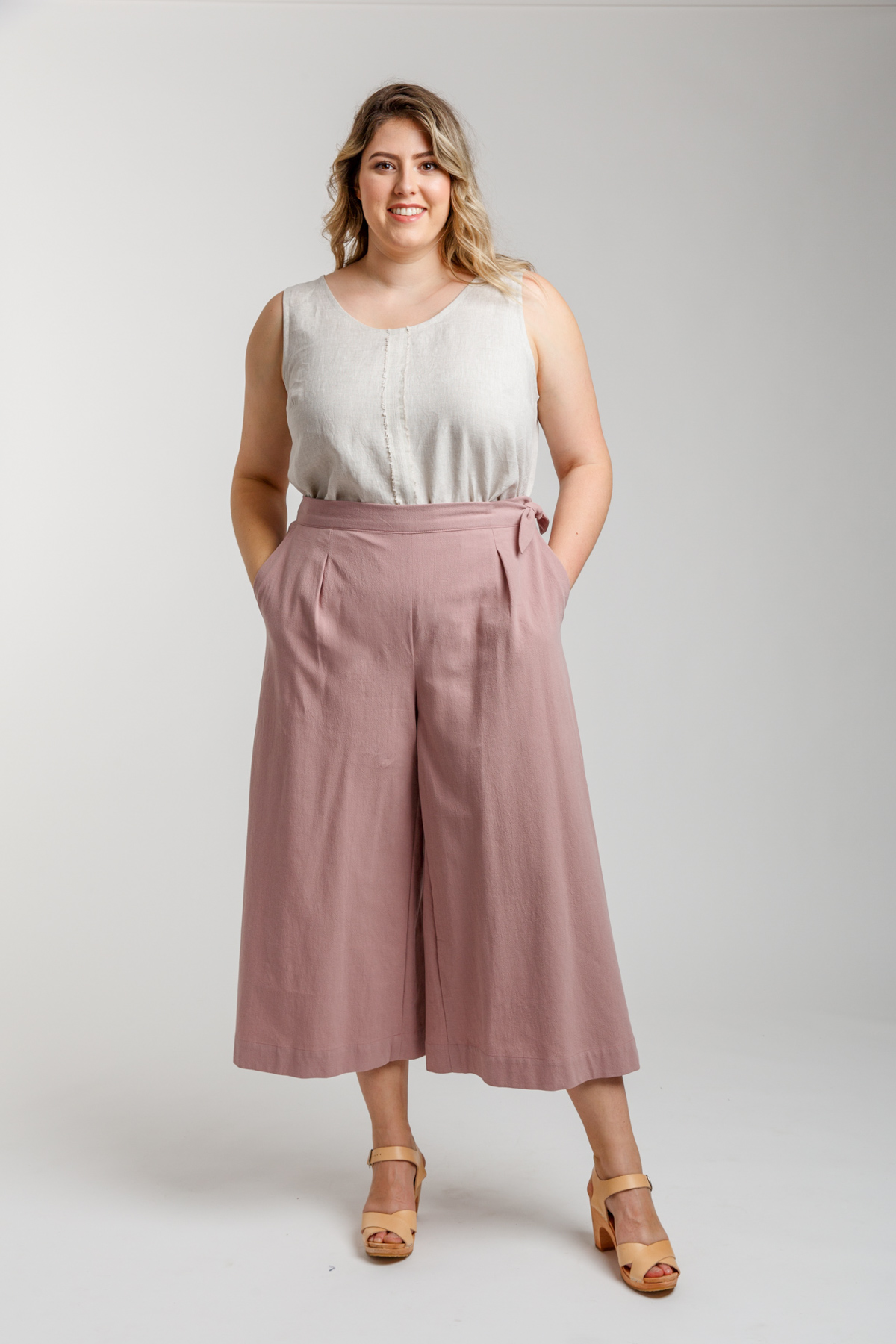 Megan Nielsen Curve Flint pants and shorts