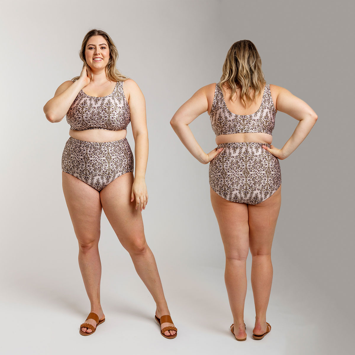Introducing Megan Nielsen Cottesloe Curve swimsuit // sizes 14-30