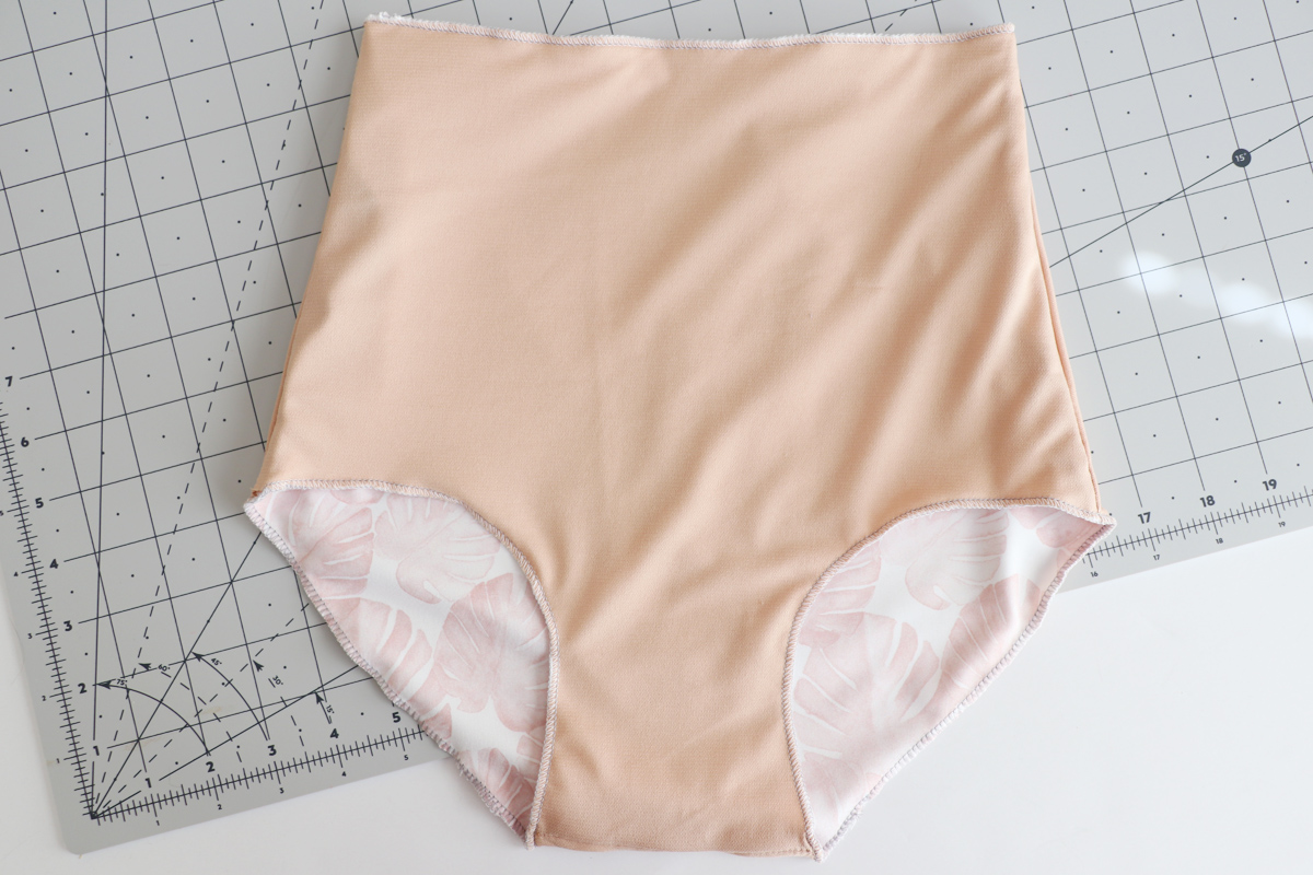 how to sew the bikini versions of the Cottsloe swimsuit by Megan Nielsen Patterns