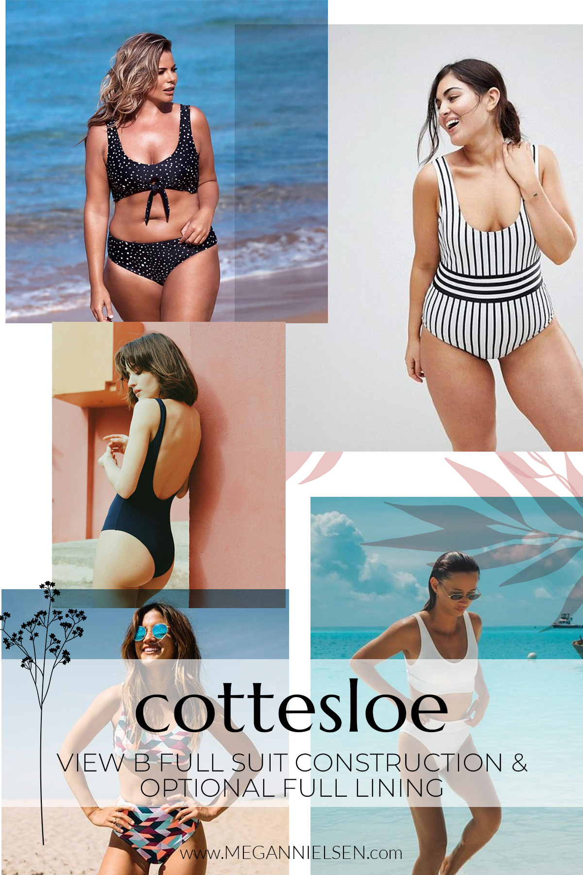 Ideas & Inspiration behind the Cottesloe pattern by Megan Nielsen Patterns