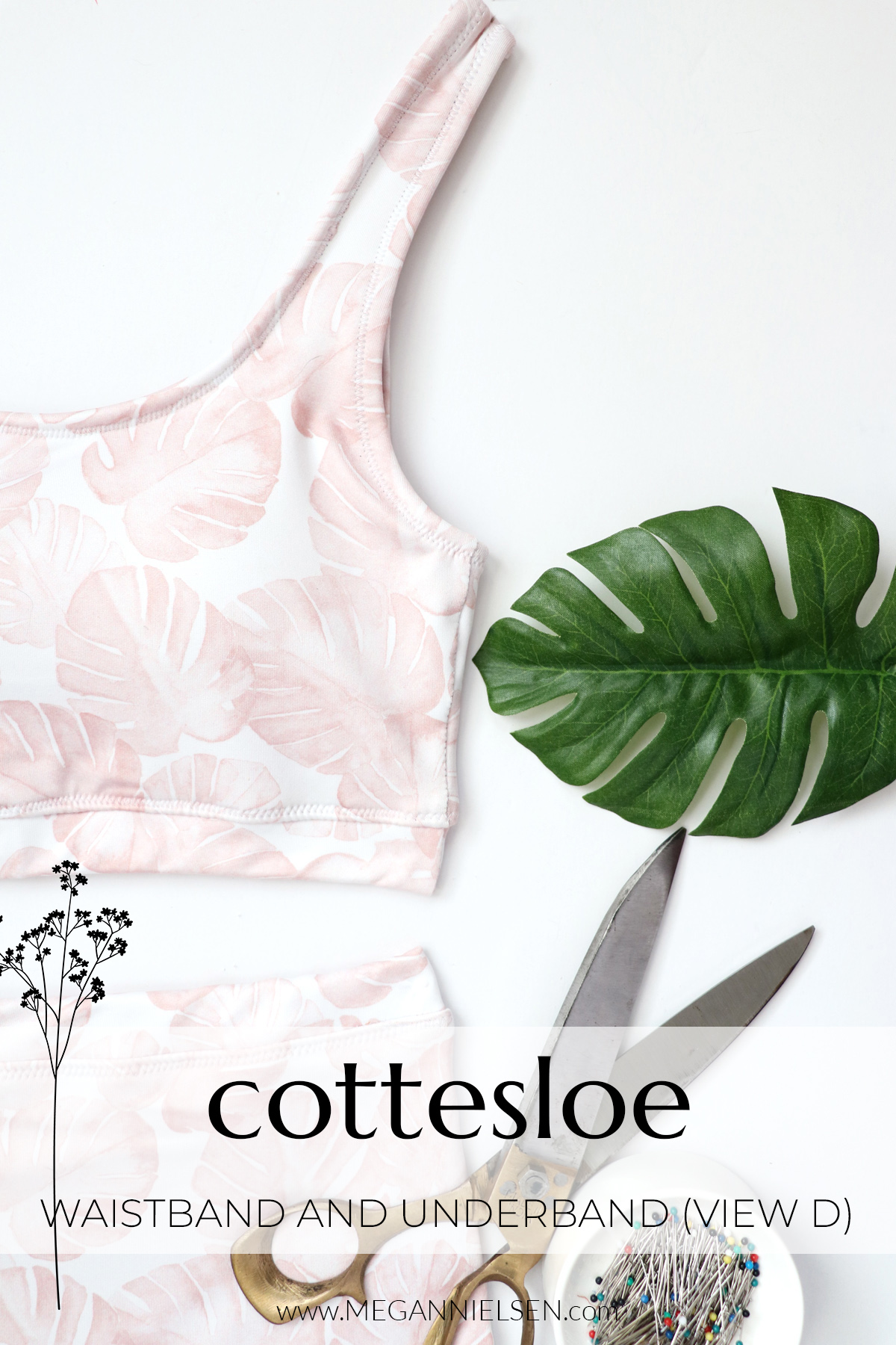 Cottesloe waistband and underband View D