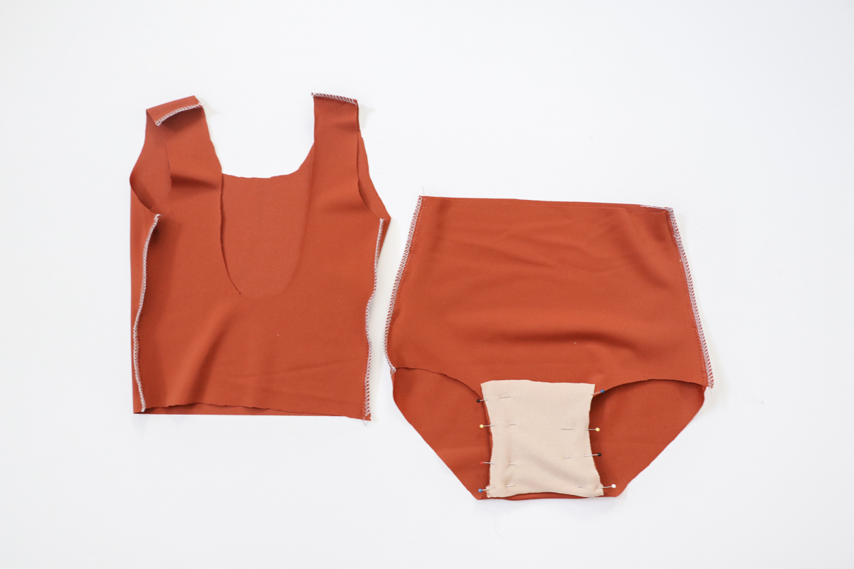 how to make add a skirt or peplum to the Cottesloe swimsuit by Megan Nielsen Patterns