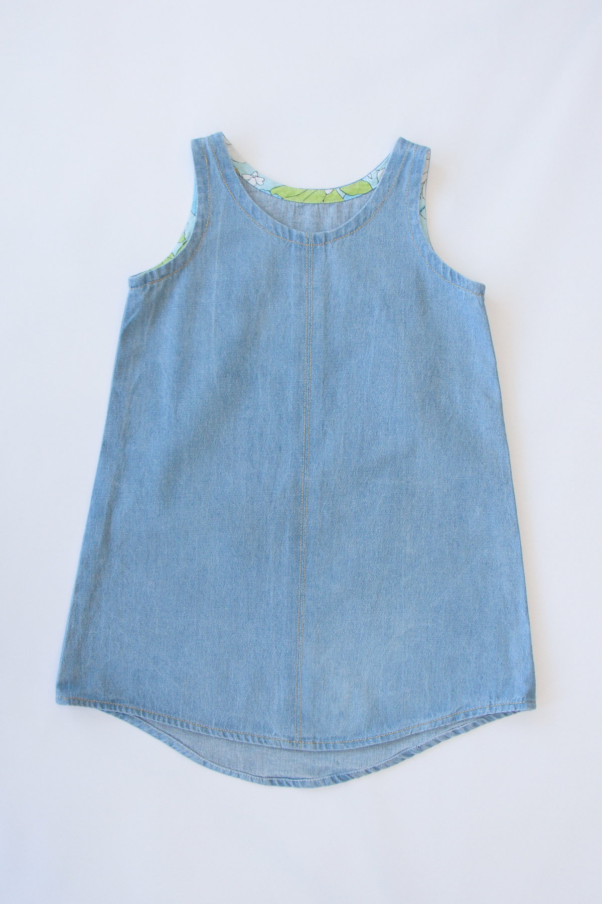 Introducing the Mini Eucalypt woven tank and dress sewing pattern by Megan Nielsen!