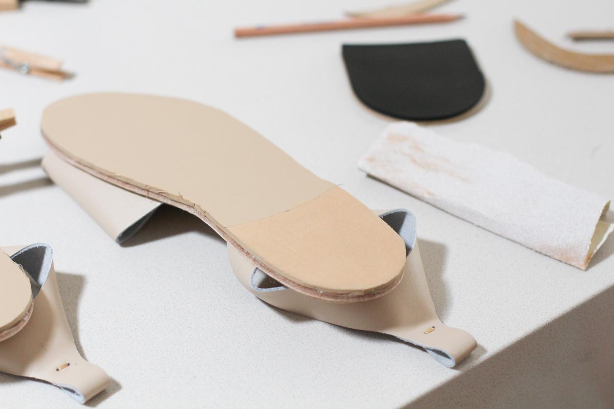 The Shoe Camaraderie Ines Sandal shoe kit! Megan Nielsen Design Diary