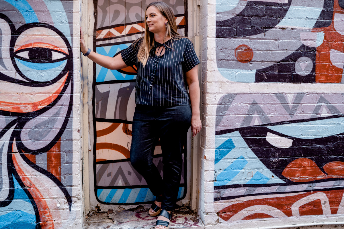 Celebrate the sewing community! Read our community spotlight on Eleanor! Megan Nielsen Design Diary