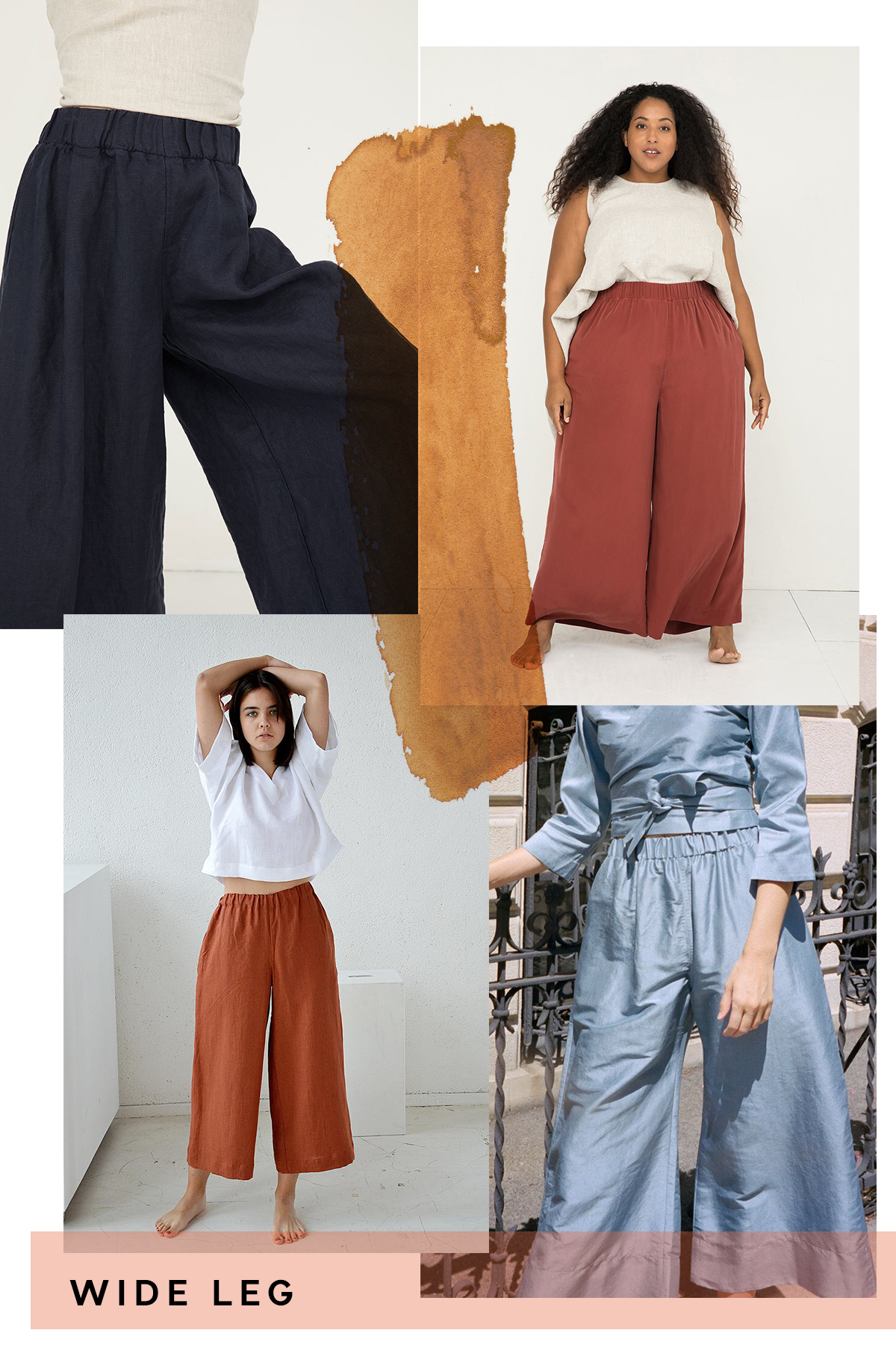 Wide leg looks for the Opal pant