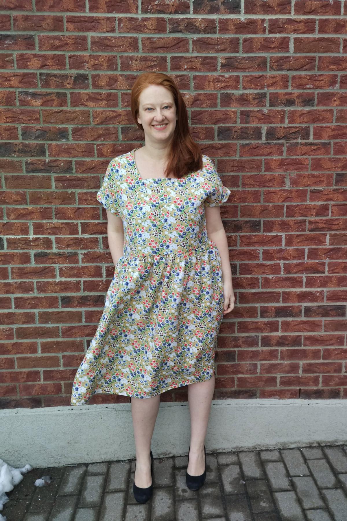 Jenni's Olive dress