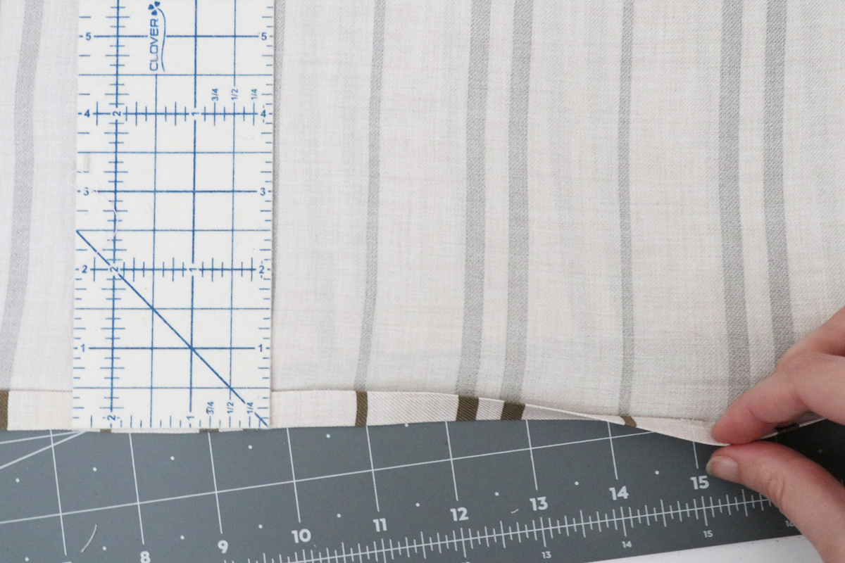 How to hem the Olive dress and blouse by Megan Nielsen Patterns