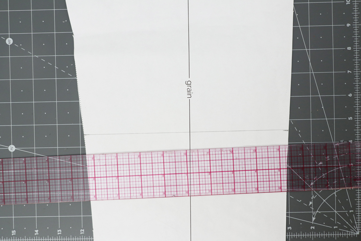 how to lengthen or shorten the Opal pants by Megan Nielsen Patterns