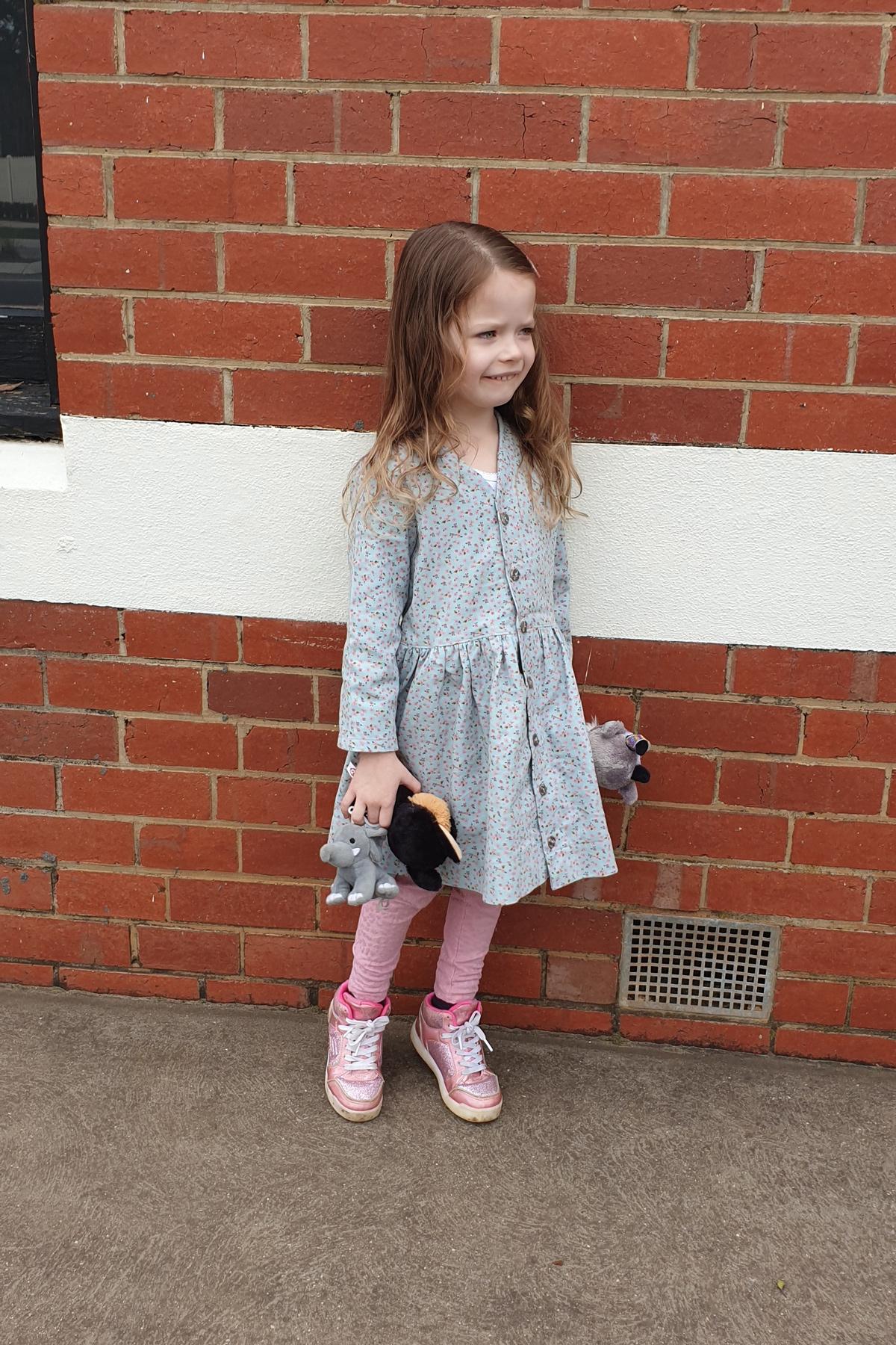 Amy's Mini Darling Ranges dress