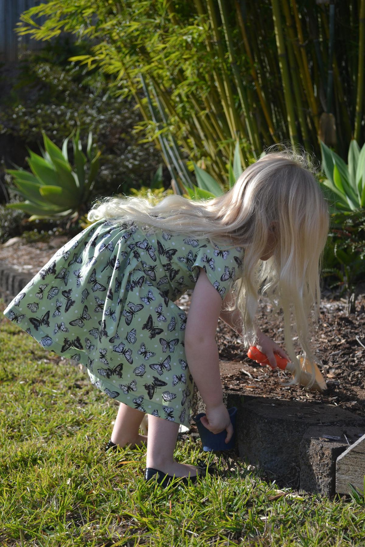 Brigette's Mini Darling Ranges dress