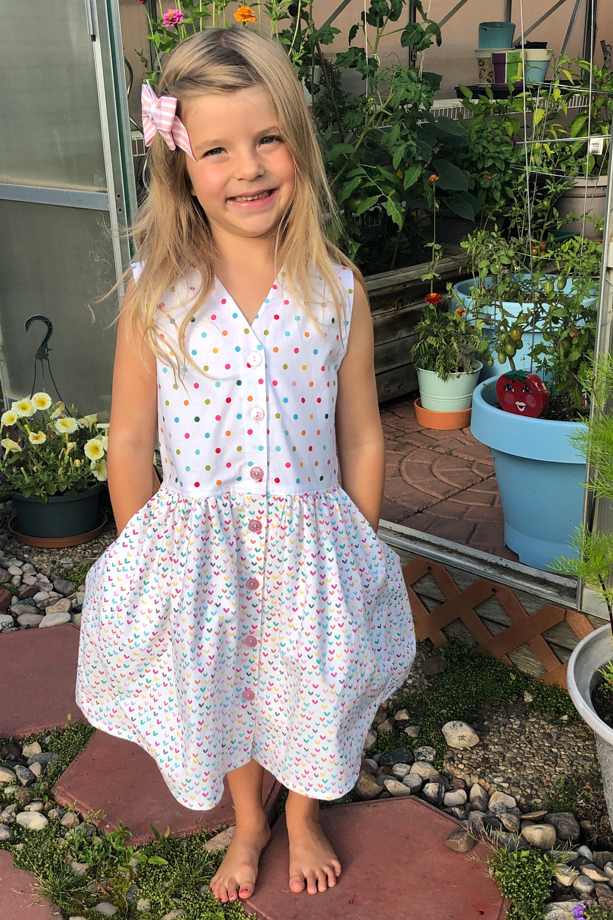 Krystle's Mini Darling Ranges dress