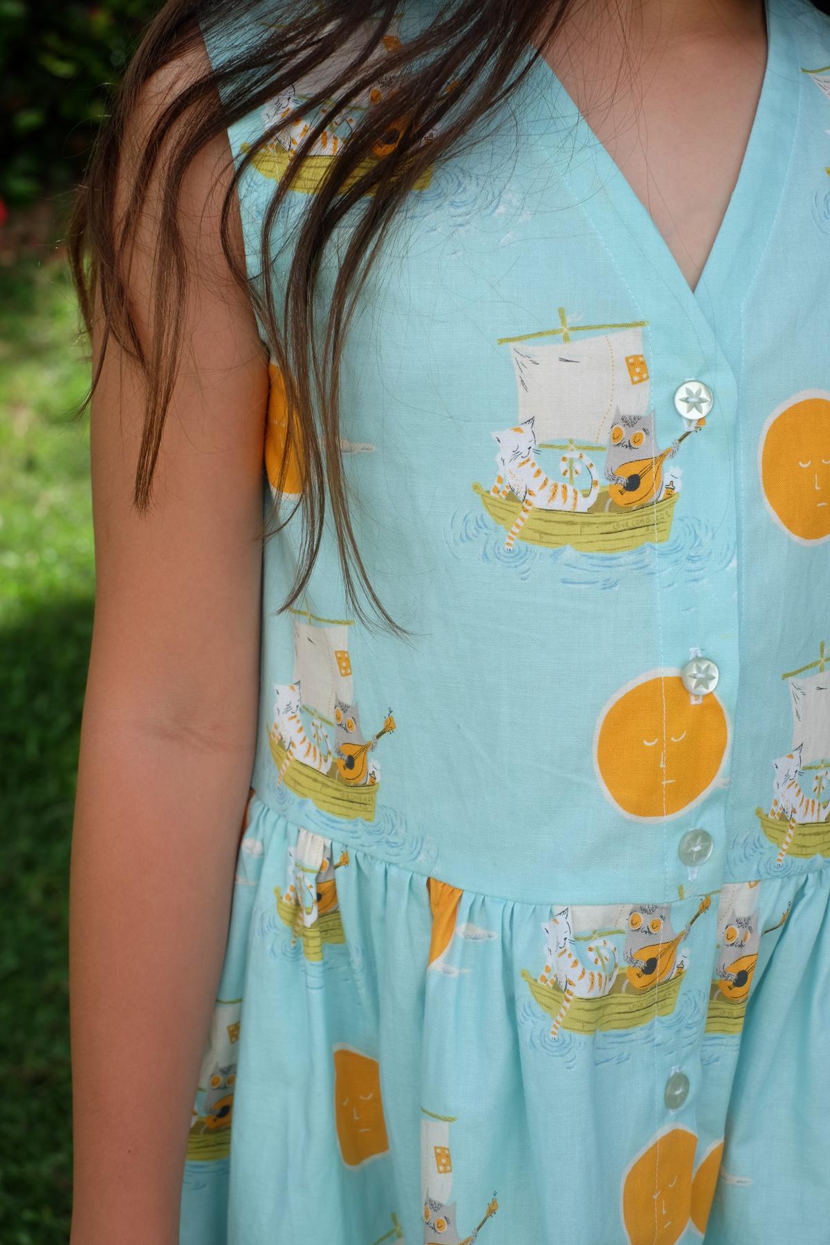 Lala's Mini Darling Ranges dress
