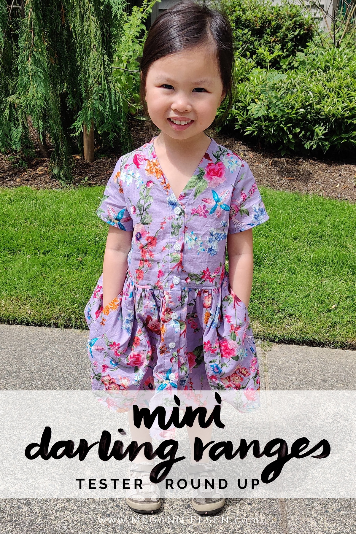 Mini Darling Ranges dress