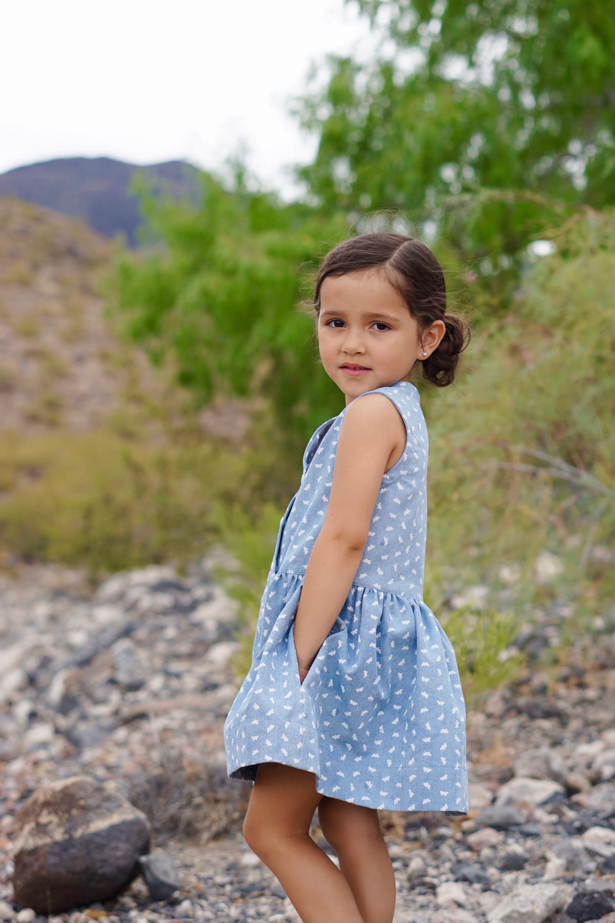 Mini Darling Ranges sleeveless dress