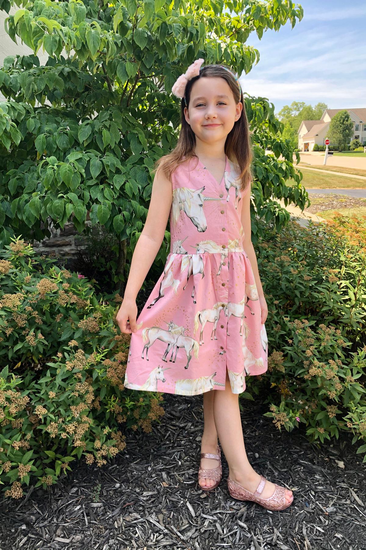Nicole's Mini Darling Ranges Dress