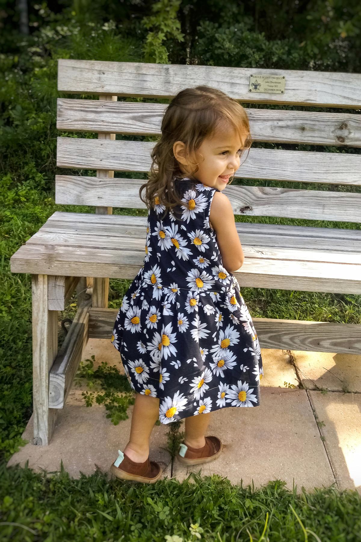 Nique Etienne's Mini Darling Ranges Tester dress
