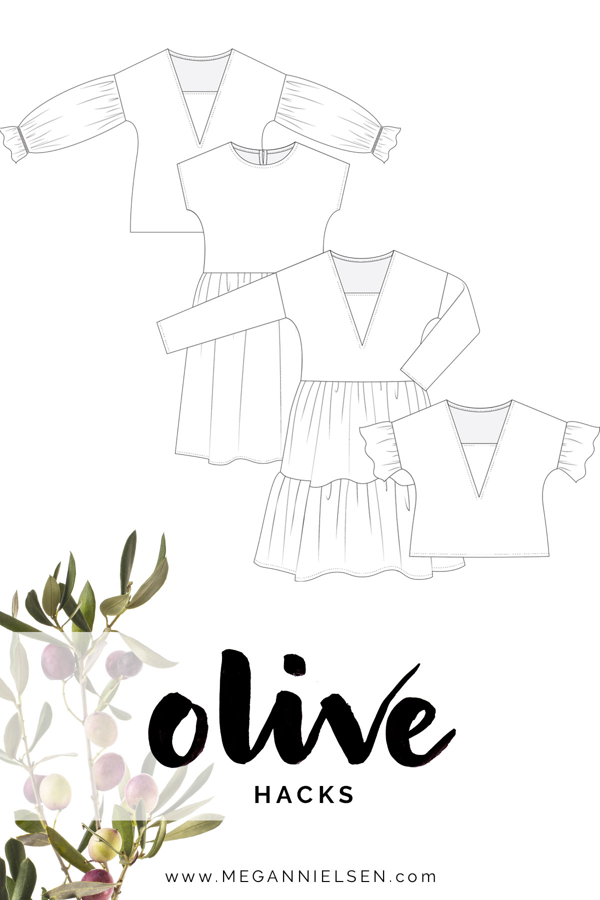 Hack your Olive pattern with these tips! Megan Nielsen Patterns Blog
