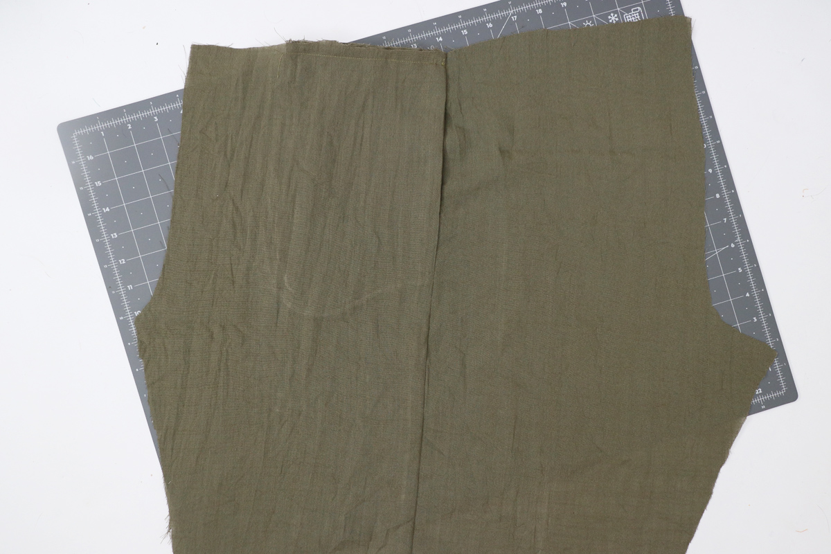 Opal Pants And Shorts - Cargo Pocket Hack Step 1 - Preparing Side Seam