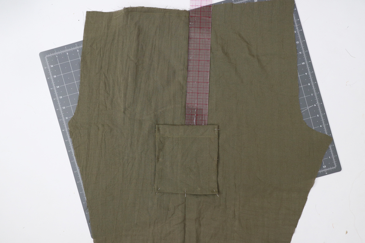 Opal Pants And Shorts - Cargo Pocket Hack Step 4 - Determining Pocket Position