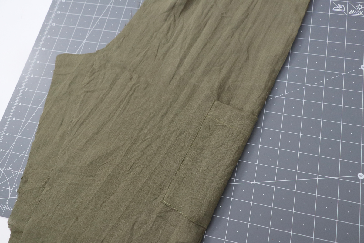 Opal Pants And Shorts - Cargo Pocket Hack Step 7 - Continue Construction As Per Instructions