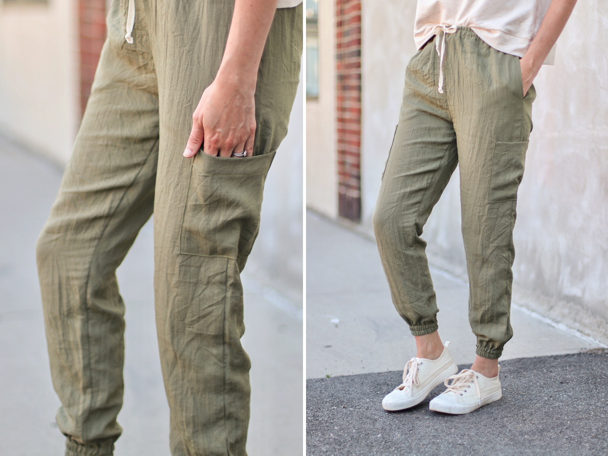 Opal Pants And Shorts - Cargo Pocket Hack - Final Result