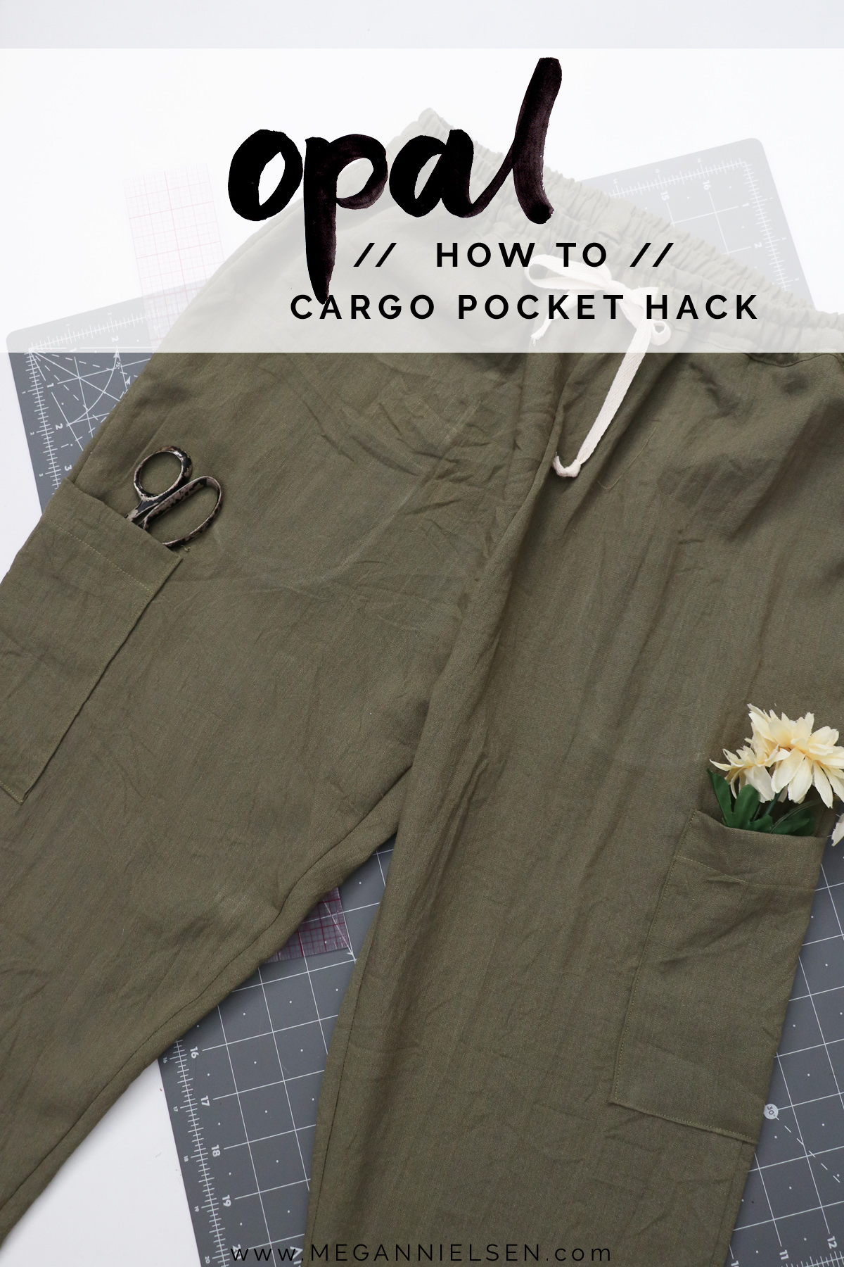 Opal Pants And Shorts - Hack Idea - How To Make Cargo Pockets