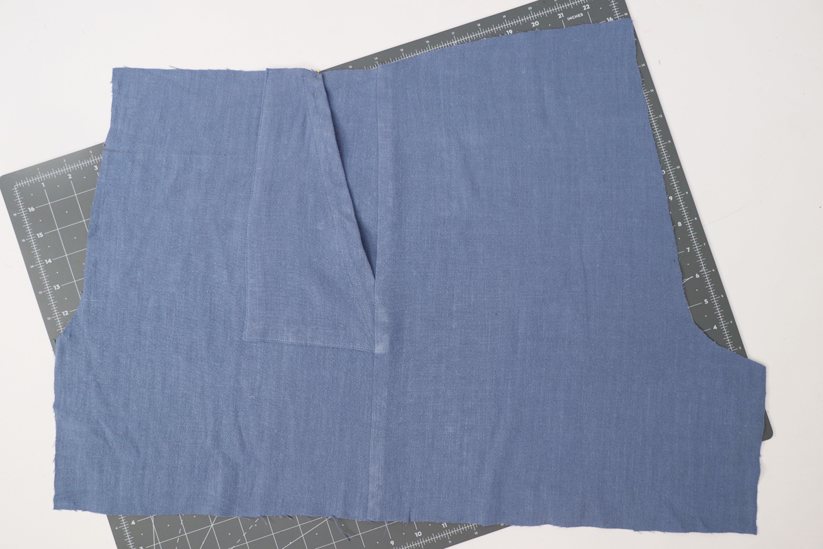 how to sew the seams on the Opal pants and shorts by Megan Nielsen Patterns