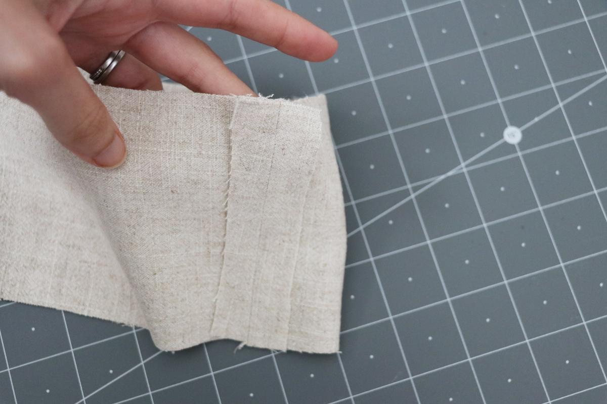Opal Pants And Shorts - Standard Waistband Tutorial Step 3 - Press Seams Open
