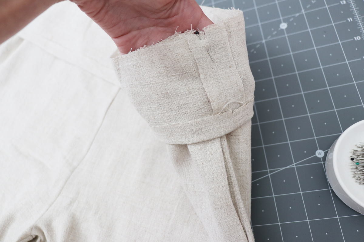 Opal Pants And Shorts - Standard Waistband Tutorial Step 7 - Align Side Seams