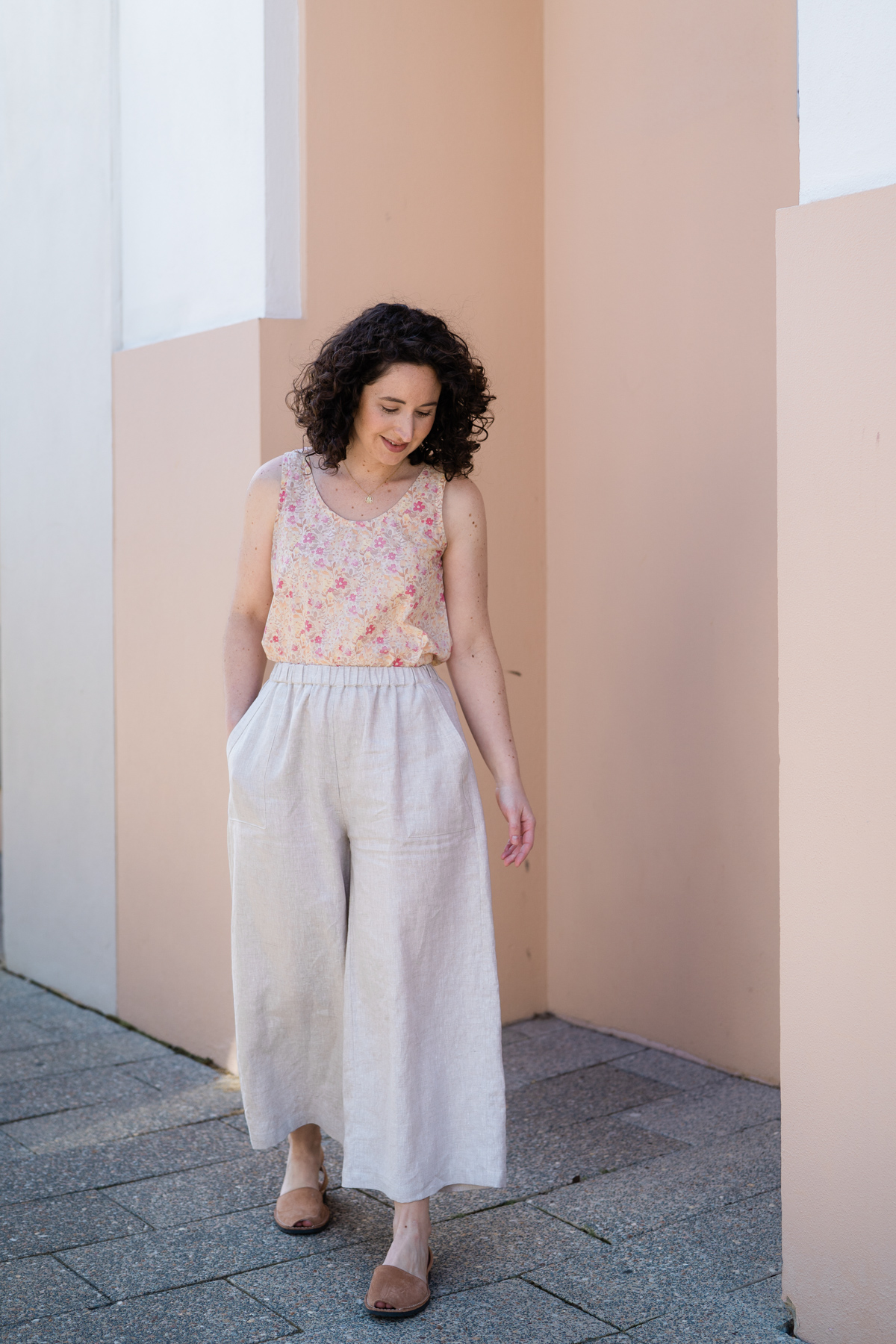 Megan Nielsen's Iso Opal Pants!