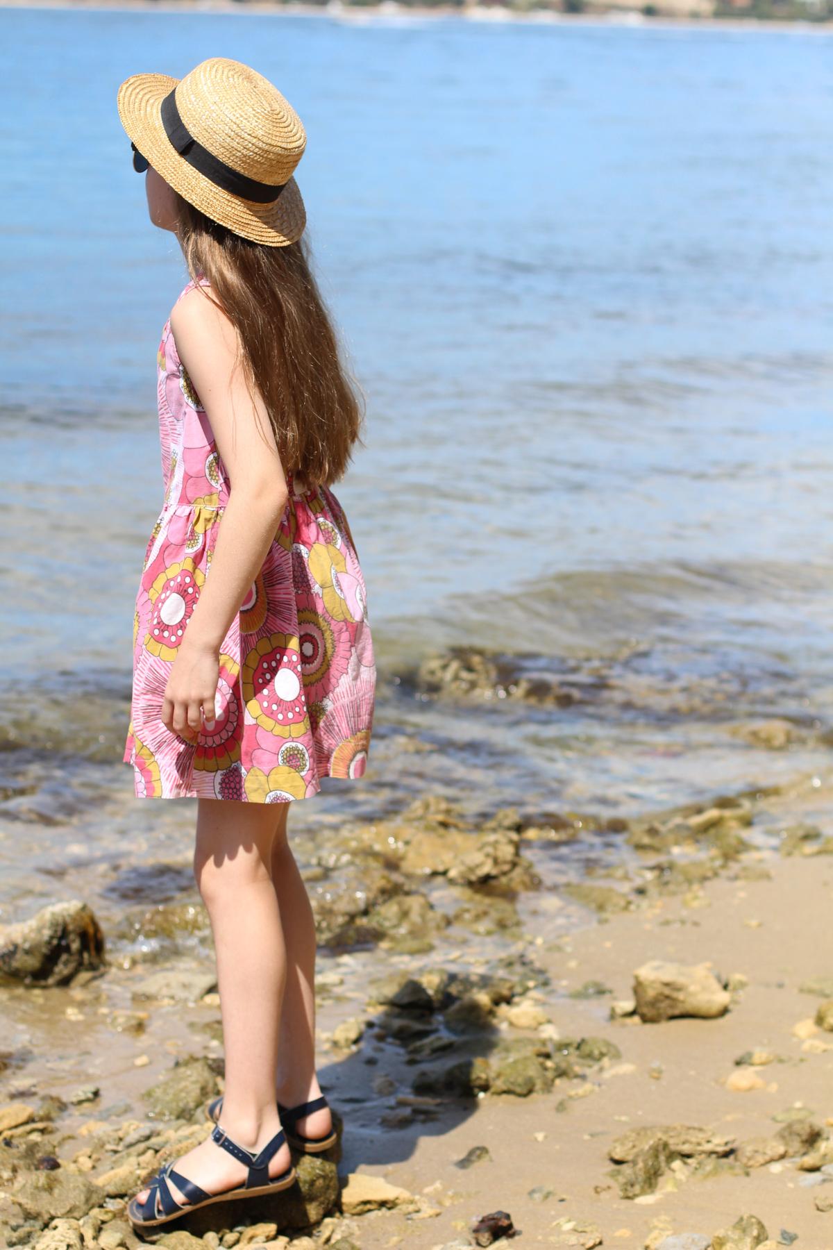 Mini Darling Ranges dress pattern