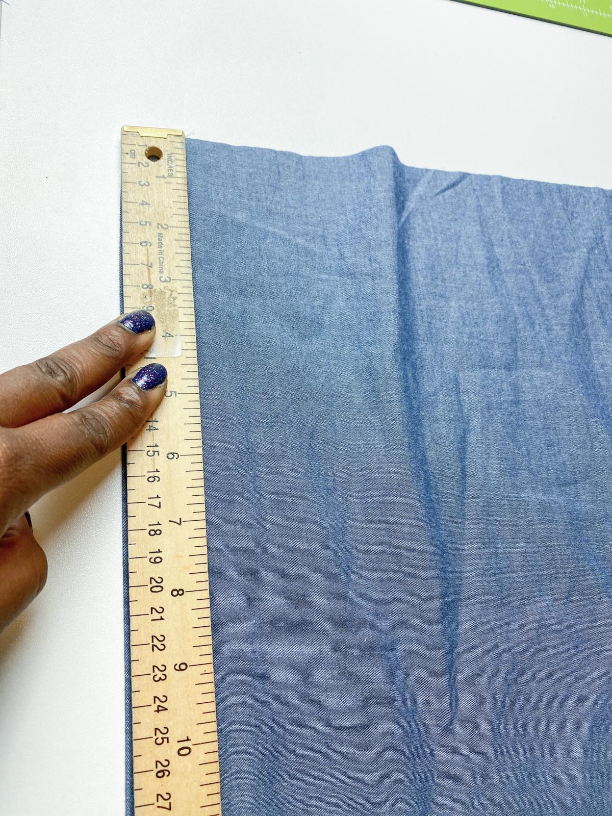 How to add a ruffle sleeve hem to the Mini Darling Ranges dress // Step 3