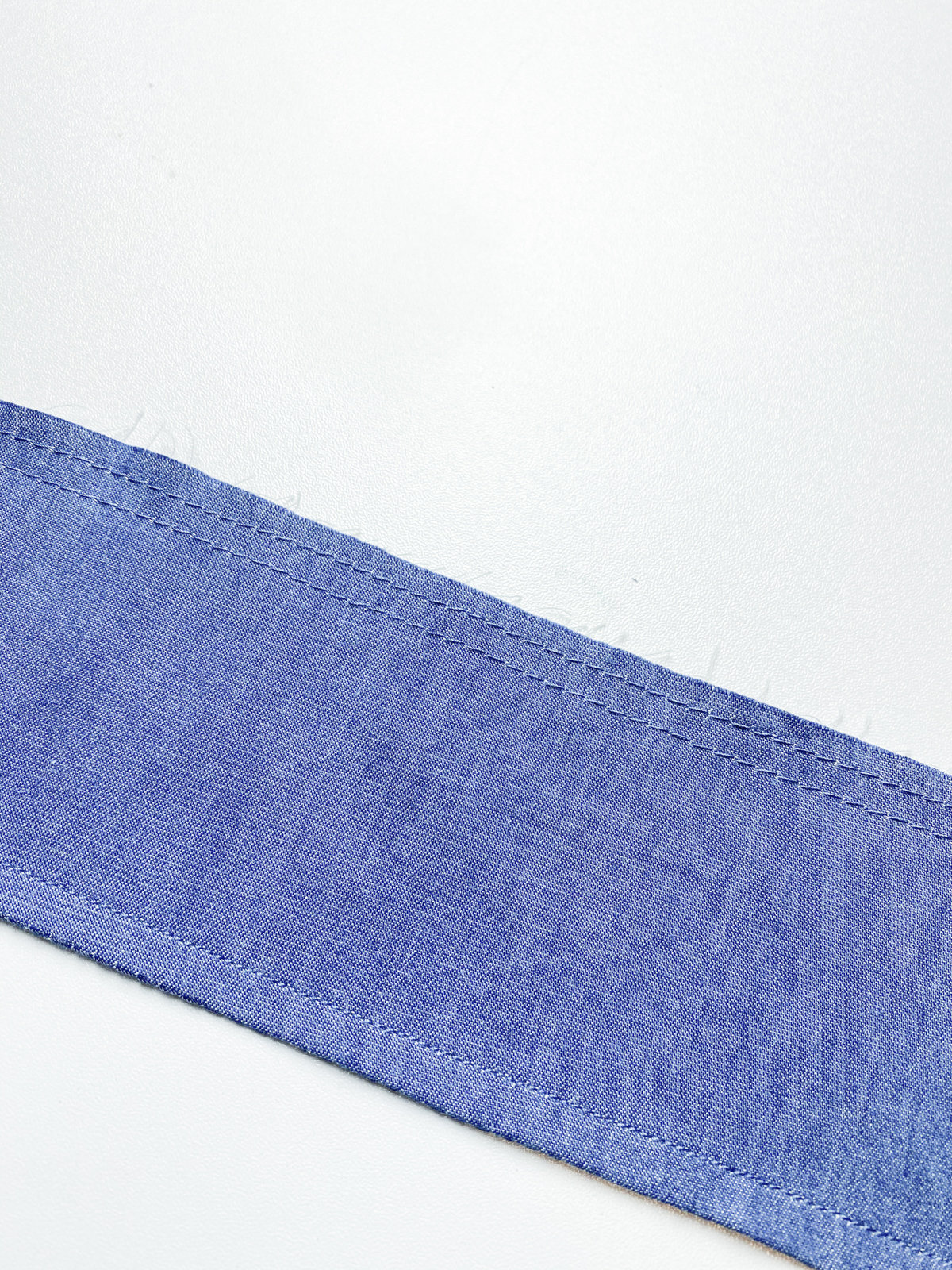 How to add a ruffle sleeve hem to the Mini Darling Ranges dress // Step 8