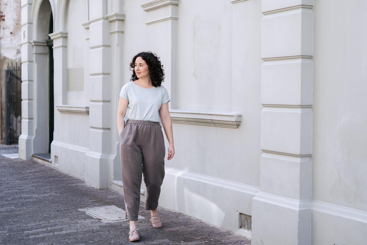 Meg's Extended Pocket Opal Pants