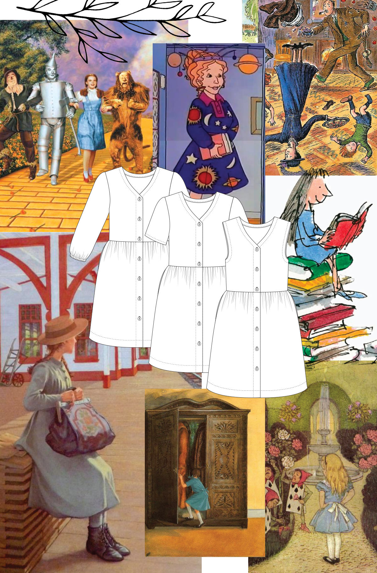 How Darling Ranges can be used for the perfect book week costume!