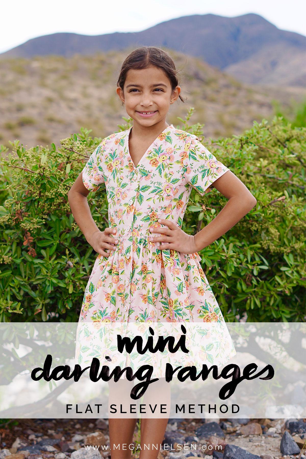 Mini Darling Ranges Flat Sleeve Insertion Method