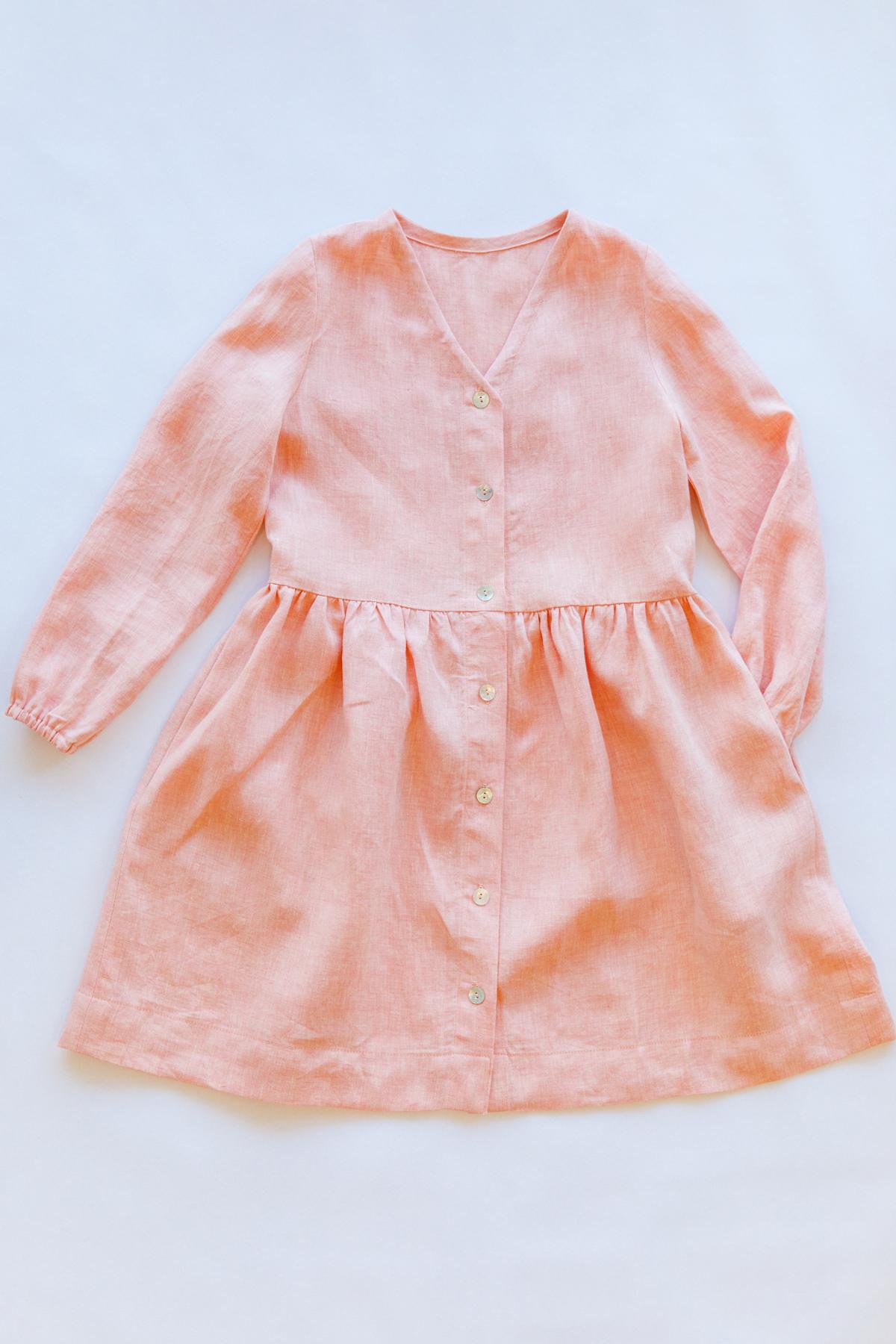 Mini Darling Ranges long sleeve dress