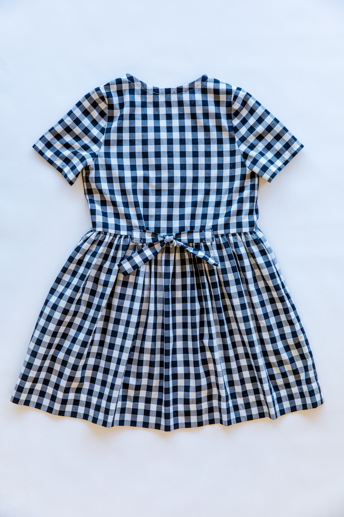 Mini Darling Ranges short sleeve dress from the back