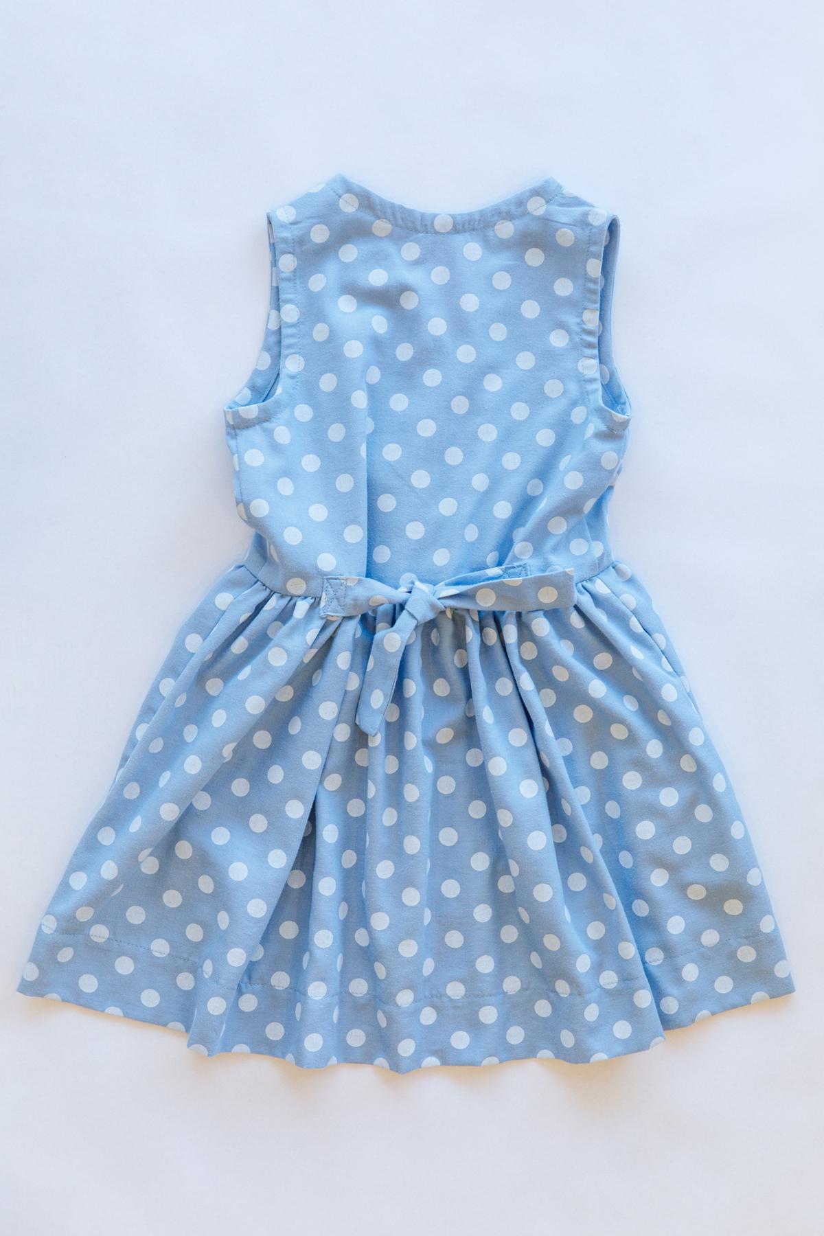 Mini Darling Ranges sleeveless dress back